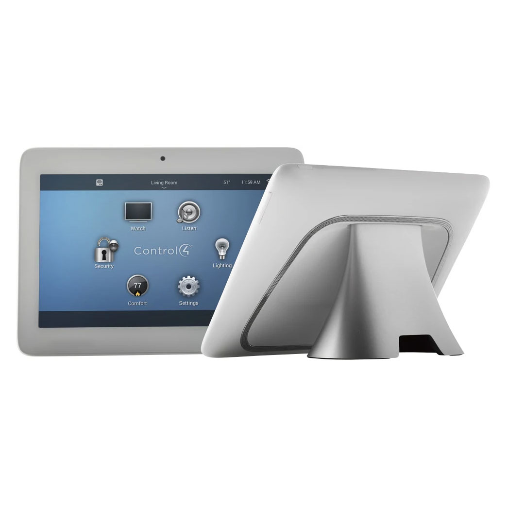 Control4® T3 Series 7 Tabletop Touch Screen White