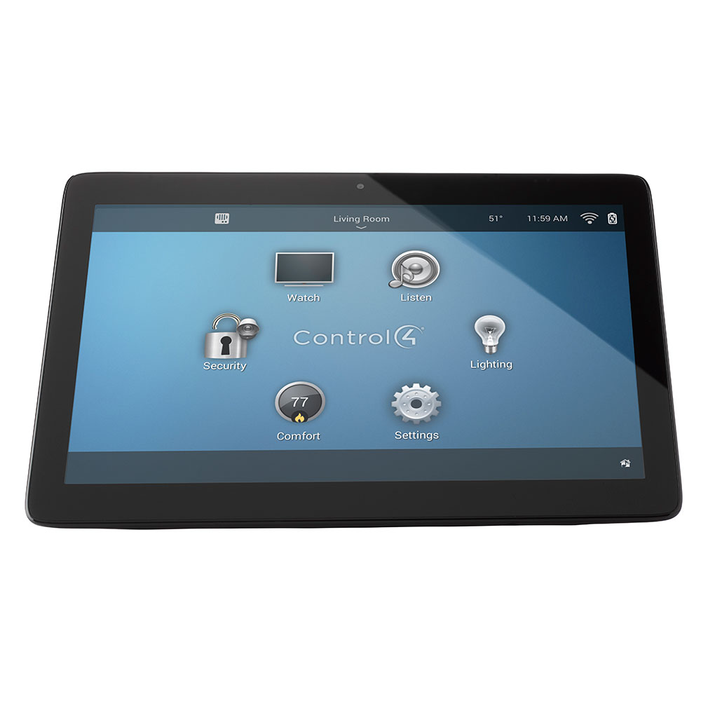 Control4® T3 Series 10 Tabletop Touch Screen Black
