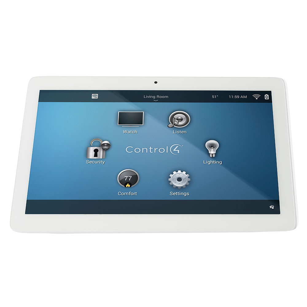 Control4® T3 Series 10 Tabletop Touch Screen White