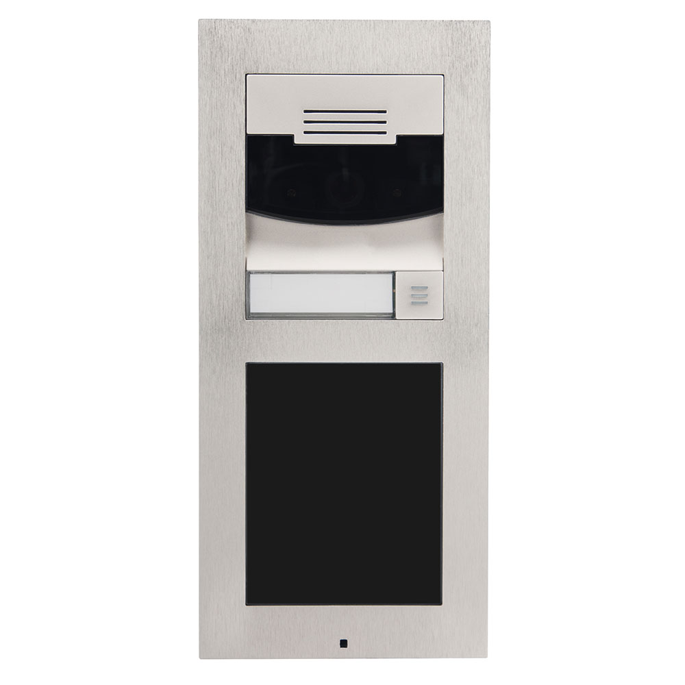 DS2 Door Station Flush Mount Brushed Nickel