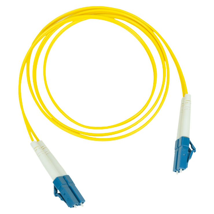 Pakedge Fiber Optic Patch Cable PVC 2.0mm LC LC Single Mode Duplex 9 125–2M 6.5Ft