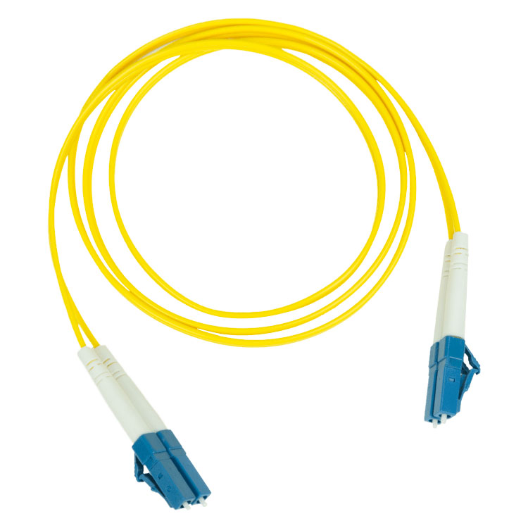 Pakedge Fiber Optic Patch Cable PVC 2.0mm LC LC Single Mode Duplex 9 125–5M 16.4Ft