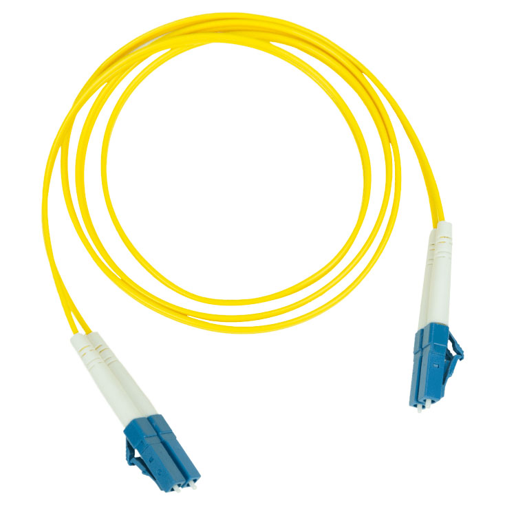 Pakedge Fiber Optic Patch Cable PVC 2.0mm LC LC Single Mode Duplex 9 125–10M 32.8Ft
