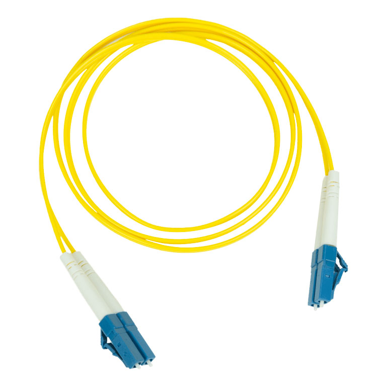 Pakedge Fiber Optic Patch Cable PVC 2.0mm LC LC Single Mode Duplex 9 125–50M 164Ft