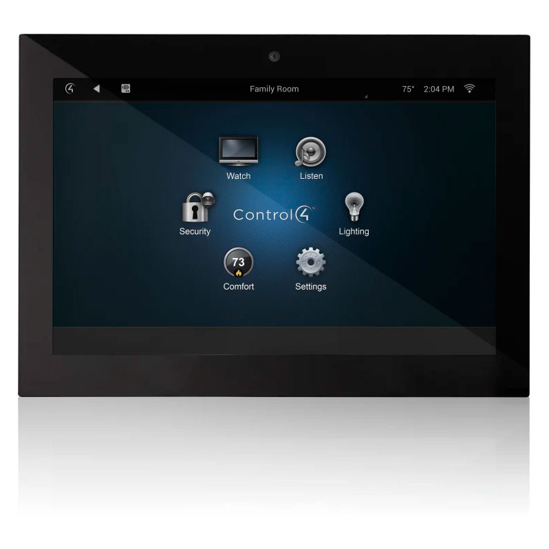 "Control4® T3 Series 7"" In Wall Touch Screen Black"