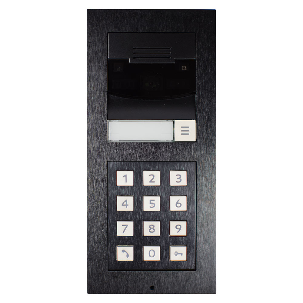 Bundle DS2 Door Station Surface Mount w Keypad Black