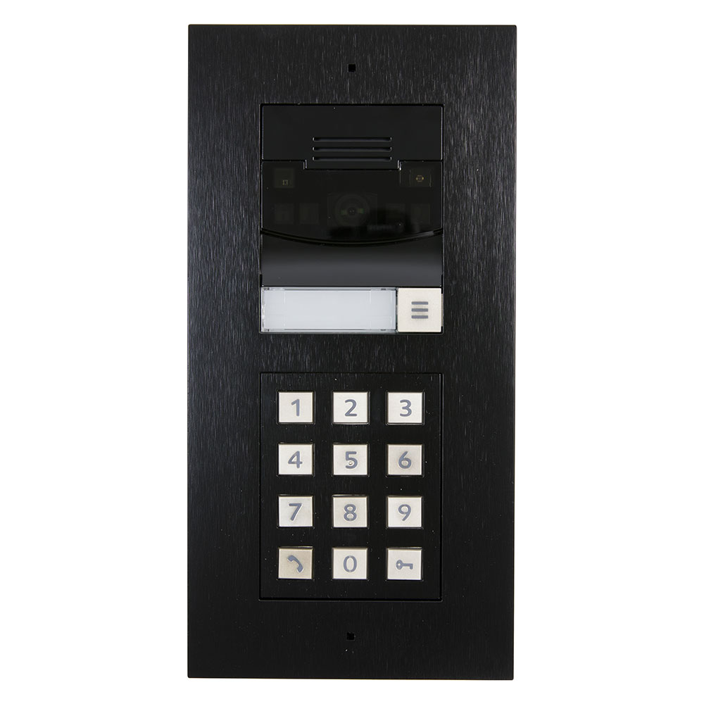 Bundle DS2 Door Station Flush Mount W Keypad Black