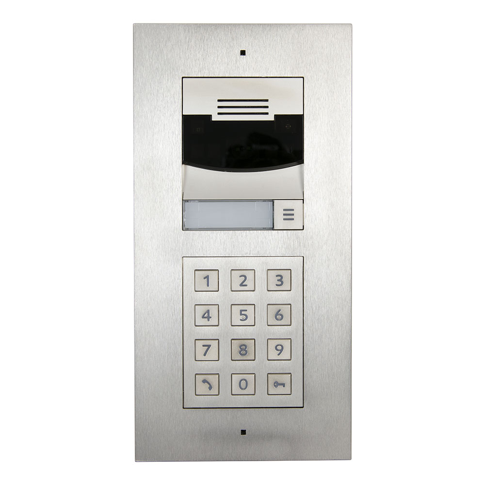 Bundle DS2 Door Station Flush Mount W Keypad Brushed Nickel